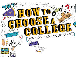 How do I choose the right college?