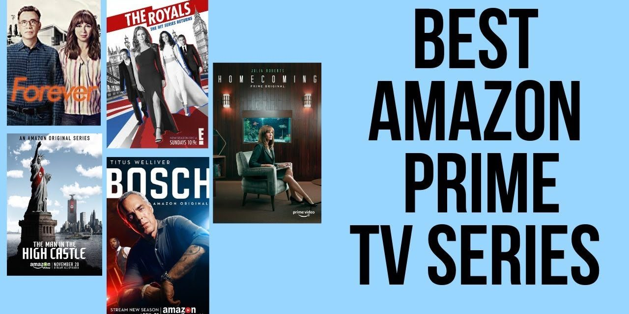 Best Series on Amazon Prime in 2019